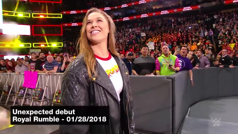 Ronda Rousey. WWE.