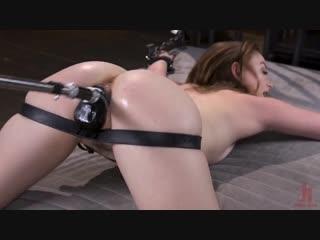 Petite Slut Danni Rivers Gets Machine fucked in Bondage [Kink. BDSM, Bondage, Hairy, Redhead, Sex Toys, Teen]