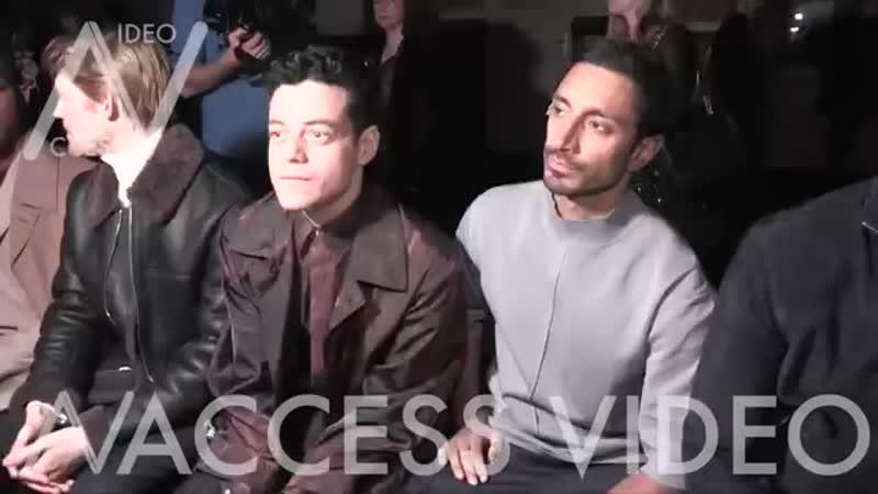 Rami Malek Joe Cole Joe Alwyn Ben Hardy and more at Dunhill Fashion Show