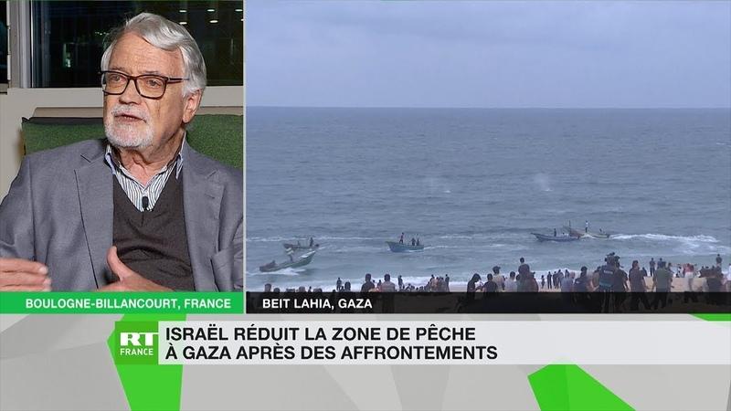 Michel Raimbaud : à Gaza, «ce qui reste c'est la zone de pêche la moins productive»