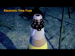 Electronic timing fuze for mortar rounds