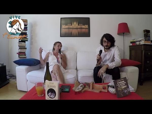 Christine Tasin Daniel Conversano Vive L'Europe qui résiste à l'islamisation juillet 2018