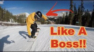 Snowboarding Butters Like a Boss!! - Arapahoe Basin Colorado - (Season 3, Day 5)