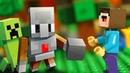 ВЫЖИВАНИЕ для Лего НУБика в Майнкрафте - Minecraft Мультфильмы для Детей - LEGO Animation и Мультики