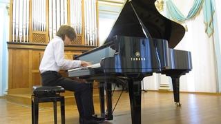 Rachmaninov - Prelude No 5 in G minor, Op 23. А.Шило 13л. ПРЕМЬЕРА.