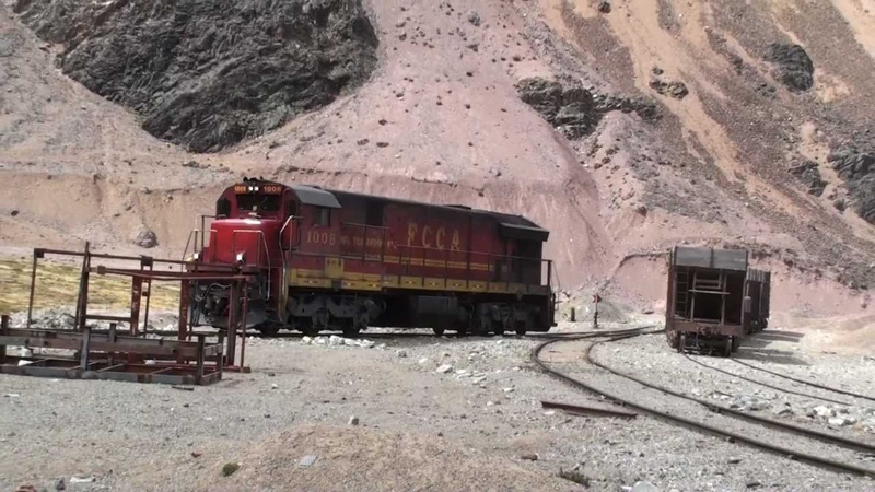 Ferrocarril Central Andino Lima Huancayo