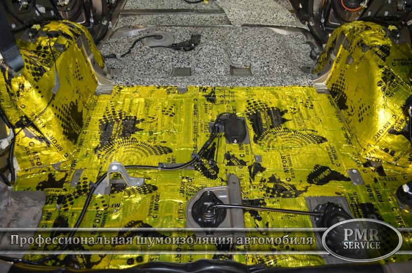 Шумоизоляция Toyota Highlander, изображение №7