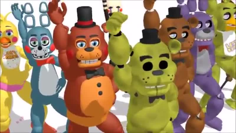 MMD x FNAF Little Apple 200Sub Special