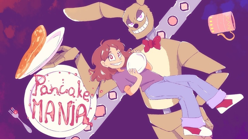 Pancake MANIA 'Springtrap and Deliah' fansong feat Ruby Dex