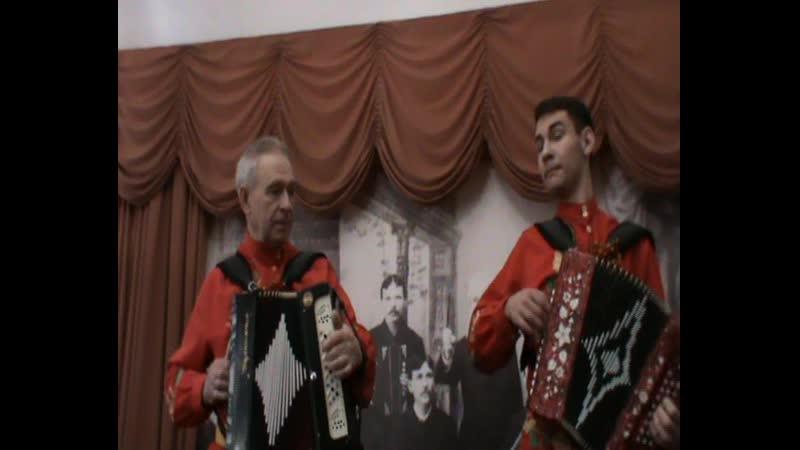 Анатолий Силкин и Александр Федосеев Музей Н И Белобородова 30 12 2018