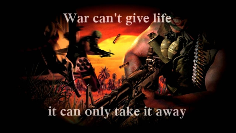Edwin Starr - War - Battlefield Vietnam Soundtrack (FULL LENGHT) [Lyrics][HQ]