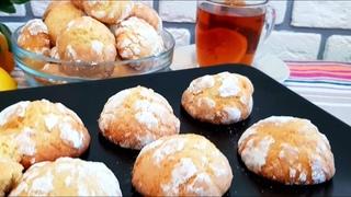 Мраморное Лимонное печенье Вкуснятина  НеимовернаяЛимонли печенье пиширилиши