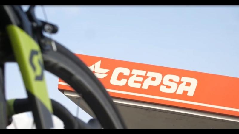 Отзыв Австралийской команды Michelton Scott о Сервисном центре Cepsa на гонках La Vuelta в Испании