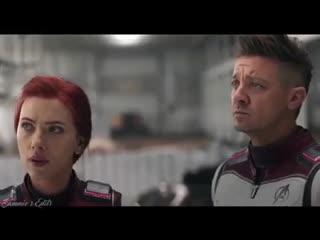 Natasha Romanoff / Black Widow and Clint Barton / Hawkeye