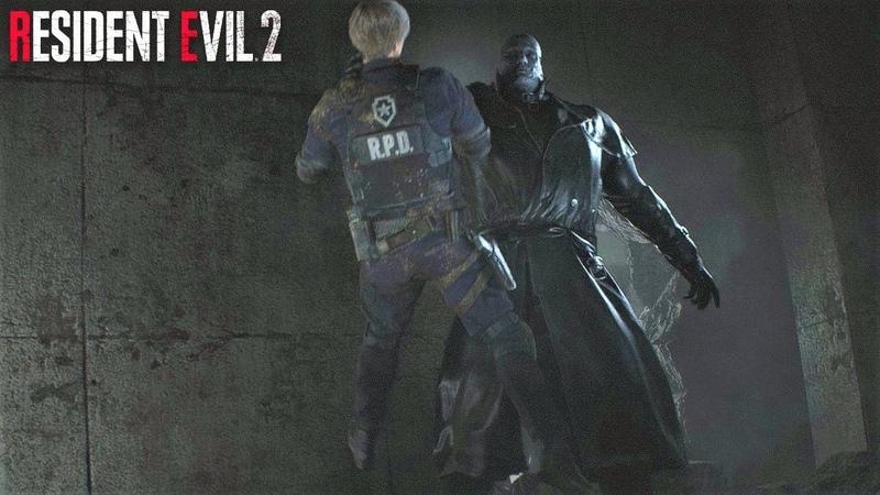 Resident Evil 2 Remake АДА ВОНГ СПАСАЕТ ЛЕОНА ОТ ТИРАНА