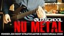 Old School Nu Metal || Fender Jim Root Stratocaster, Mercuriall U530