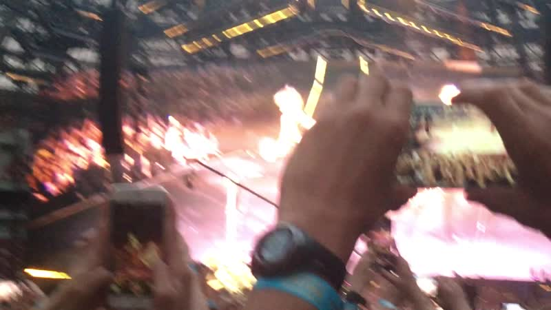 Muse Propoganda Отрывок Live Лужники 2019