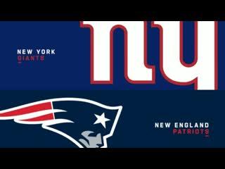 Nfl 2019-2020 / ps / week 04 / / new york giants @ new england patriots