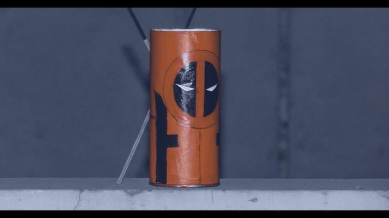 Diy marvel diydeadpool diymarvel DIY Marvel's Deadpool pen holder easy tutorial