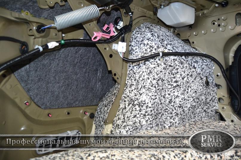 Комплексная шумоизоляция Toyota Camry, изображение №13