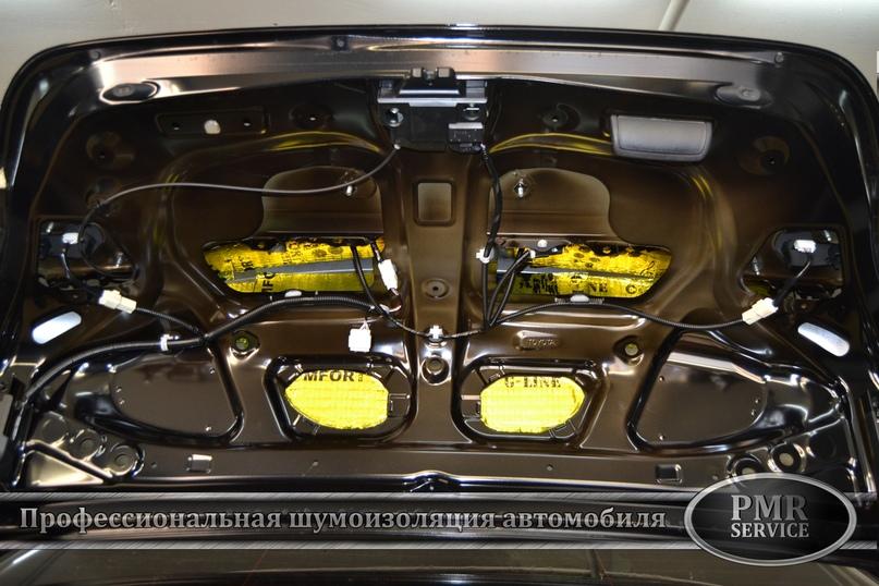 Комплексная шумоизоляция Toyota Camry, изображение №14