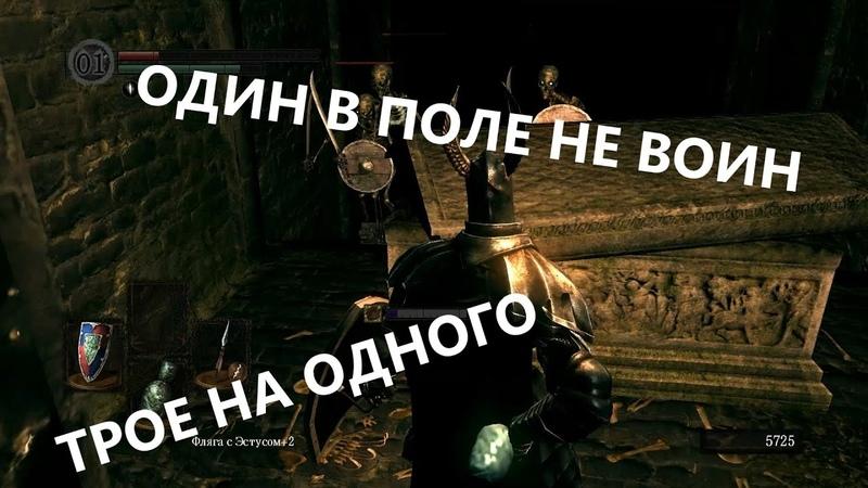 Dark Souls 1. Катакомбы никого не щадят. Серия 21