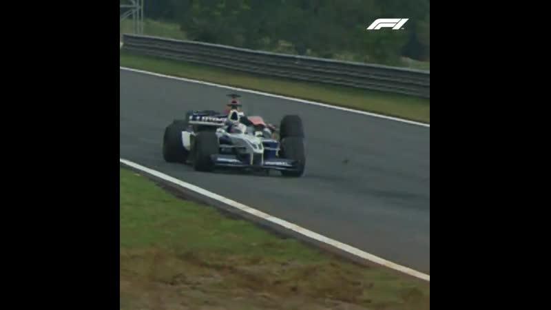 Йос Ферстаппен таранит Хуана Пабло Монтойю Формула 1 Гран при Бразилии 2001