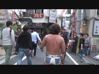 Akito vs. Sanshiro Takagi vs. Yuto Shimohigashi vs. Yumehito Imanari (DDT - Araki Town Sugi Daimon Autumn Festival)