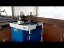 Пуско-наладка 3-роликового профилегибочного станка MG AR 110