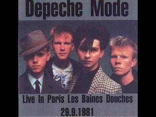 Depeche Mode - live in Les Bains Douche, Paris
