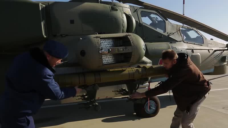 Вертолёт Ми 28Н Полигон Боевая авиация Техника Оружие Кореновск