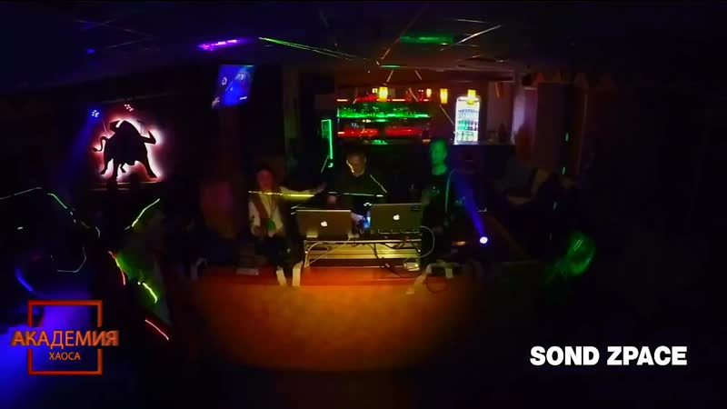 06. Sond Zpace - 2nd Live Video Mix at Academy Chaos (2019-10-18)