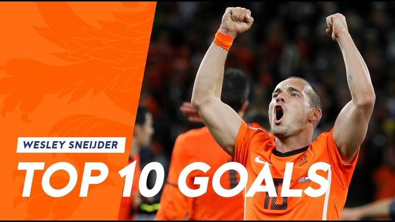 Wesley Sneijder Top 10 goals in Oranje