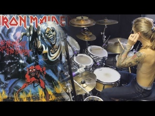 Kyle Brian - Iron Maiden - The Number Of The Beast (Drum Cover)
