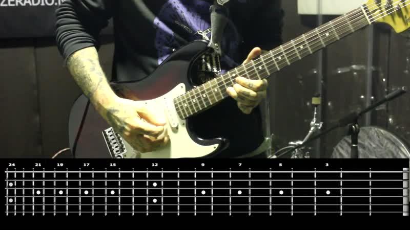 Sasha Rock'n'Roll guitar lessons Jello Biafra The Melvins Plethysmograph видео урок №31 tutorial