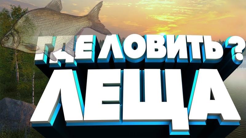 ●Русская Рыбалка 4●ГДЕ ЛОВИТЬ ЛЕЩА ●ХОРОШАЯ ЛЕЩЕВАЯ ТОЧКА●
