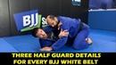 Three Half Guard Details For Every BJJ White Belt by Jake Mackenzie