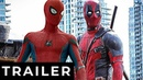 Дэдпул 3 Спайдермен - фанатский трейлер