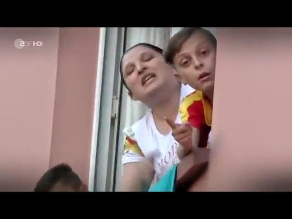 Libanese hetzt gg Zigeuner die angeblich alles verdrecken Türkischer Schlägertrupp eilt zu Hilfe