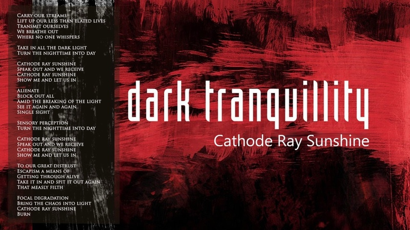 Dark Tranquillity – Cathode Ray Sunshine (cover feat. Younit13)