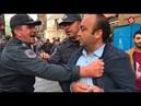 Polislərin sadəcə zorakılıq və aksiyaçıları təhqir etmə görüntüləri