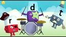 Learn to Read The Alphabet from A - Z Alphablocks ABC \ Английский алфавит