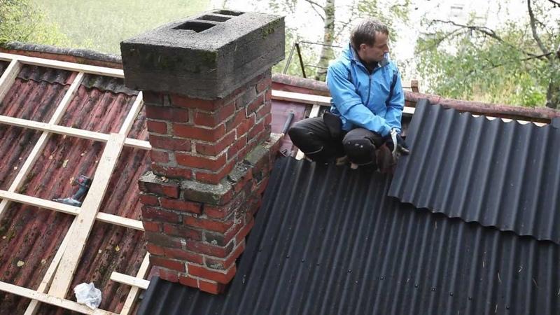 Ондулин. Монтаж новой кровли / Onduline. Your New Roof Coating