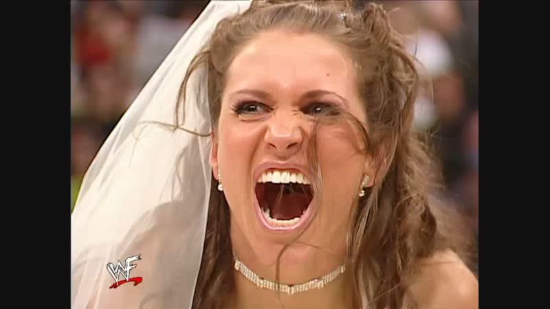 WWF.Raw.2002.02.11 - Triple H and Stephanie McMahon's wedding ceremony