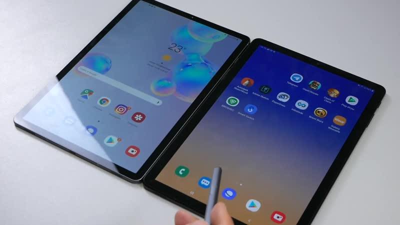 СРАВНЕНИЕ _ Samsung Galaxy Tab S4 vs Tab S6