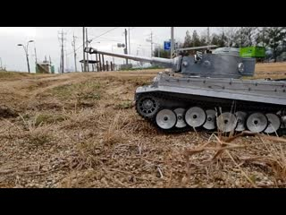 Rc tank mato full metal german tiger 1 off-road ride+rc models