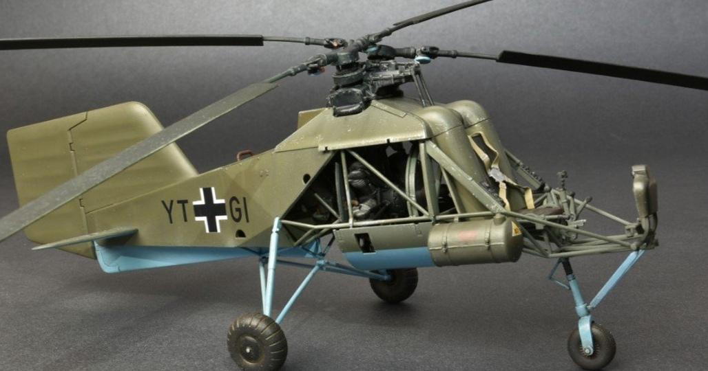 Вертолет Флетнер