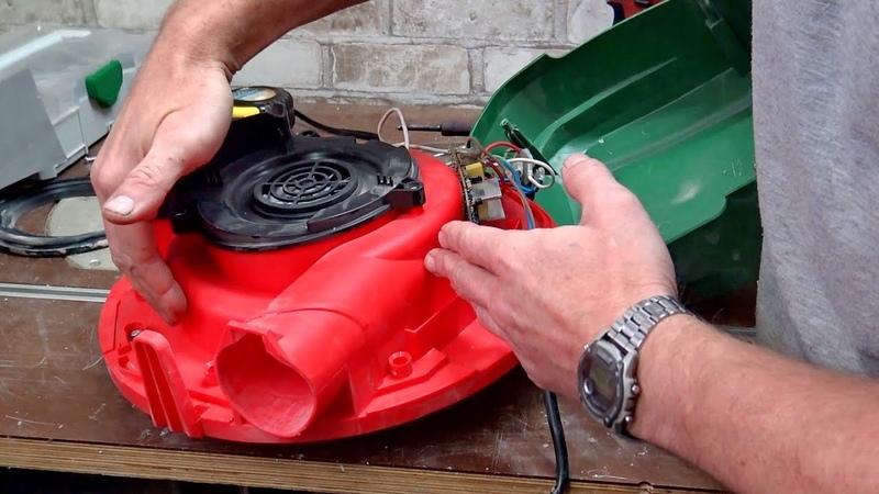 Доработка пылесоса Status Как установить регулятор мощности в пылесос