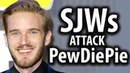 SJWs Attack PewDiePie's Wedding
