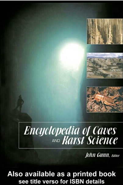 Encyclopedia-of-Caves-and-Karst-Science
